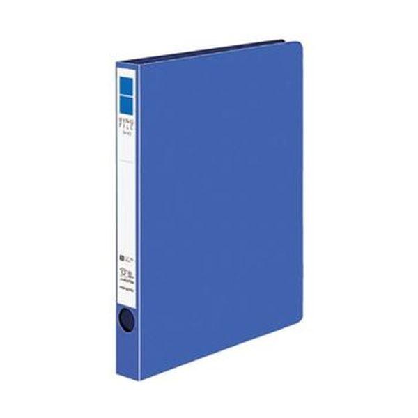 (まとめ)コクヨ リングファイル(ER・PP表紙)B5タテ 2穴 170枚収容 背幅29mm 青 フ-UR421NB 1セット(10冊)【×3セット】