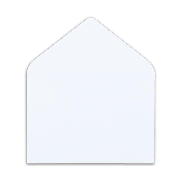 (まとめ) ハート マルチプリンター対応 洋封筒 洋2 104.7g/m2 〒枠なし ホワイト Y1290 1パック(100枚) 【×10セット】