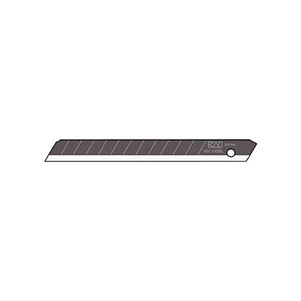 (まとめ) 貝印カミソリ 職専 替刃小超鋭角刃VS-50 1ケース(50枚) 【×10セット】