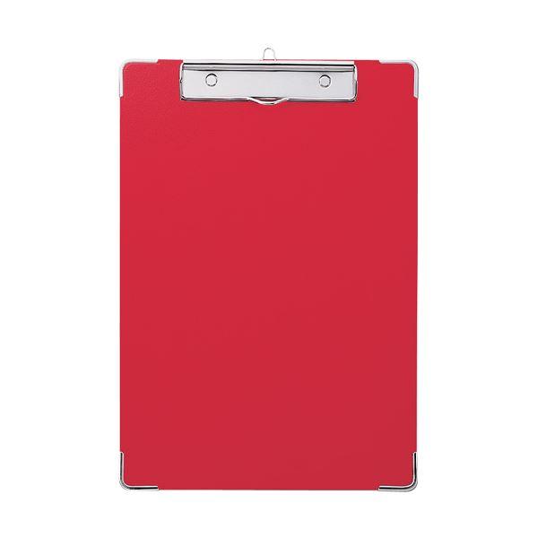 (まとめ) セキセイ カラー用箋挟 A4タテ Y-56C-20レッド 1枚 【×30セット】