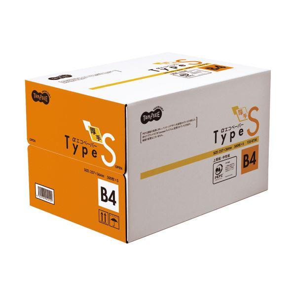 (まとめ)TANOSEE αエコペーパー タイプSB4 1箱(2500枚:500枚×5冊) 【×2セット】