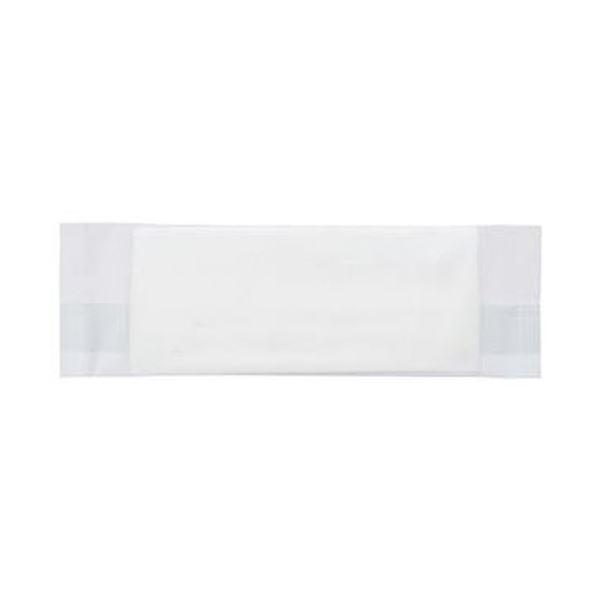 (まとめ)TANOSEE 紙エンボスおしぼり 平型 1ケース(1200枚)【×5セット】