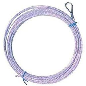 バレーネット(交換用)上部ロープ ステンレスワイヤー 6人制