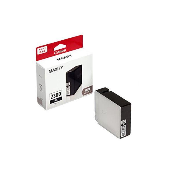 (まとめ)キヤノン インクタンクPGI-2300BK ブラック 9289B001 1個 【×3セット】