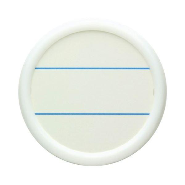 (まとめ) ソニック 丸型名札 大 両用 白 NF-685-W 1パック(10個) 【×10セット】