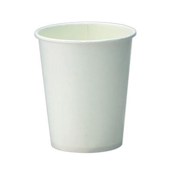 (まとめ)TANOSEE 紙コップ ホワイト 150ml(5オンス)1パック(80個)【×50セット】