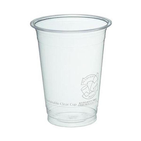 (まとめ)サンナップ サスティナブルクリアーカップ 420ml(14オンス)C92-420SCC 1パック(40個)【×20セット】