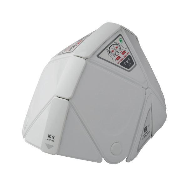 【スーパーSALE限定価格】(まとめ)ミドリ安全 折りたたみヘルメットTSC-10フラットメット【×5セット】
