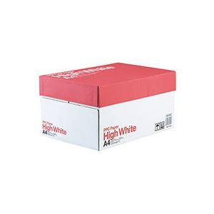 (まとめ)PPC PAPER High WhiteA4 1箱(5000枚:500枚×10冊) 【×2セット】