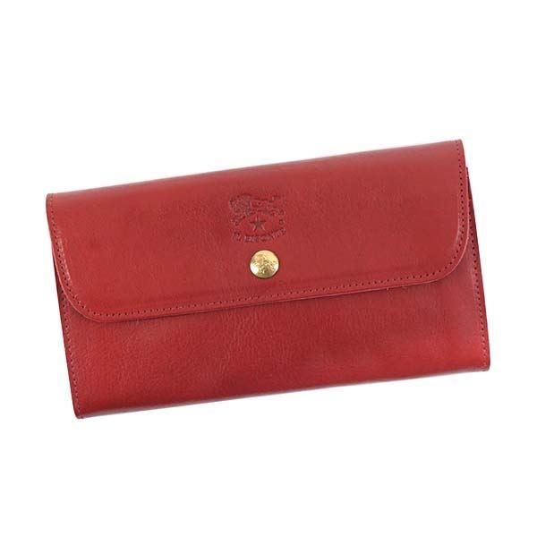 IL Bisonte(イルビゾンテ)長財布 C0842 245 RUBY RED