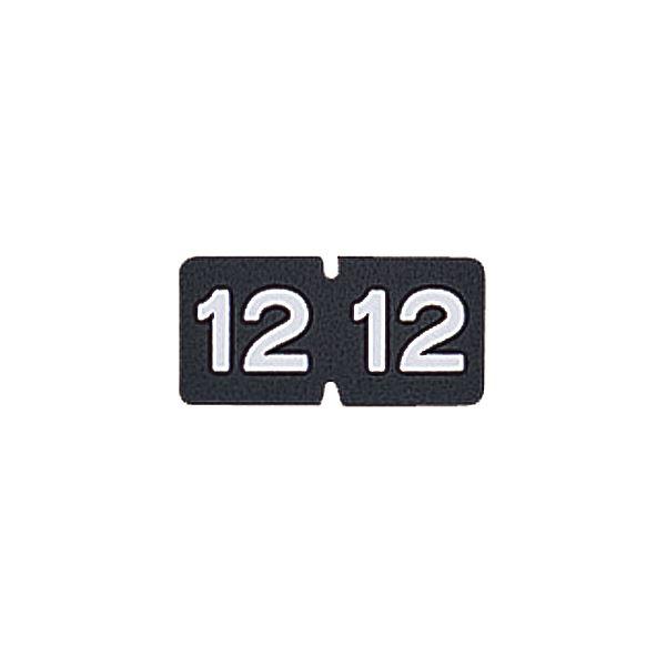(まとめ) リヒトラブ カラー月ラベルMロールタイプ 「12」 HK781R-12 1箱(300片) 【×10セット】