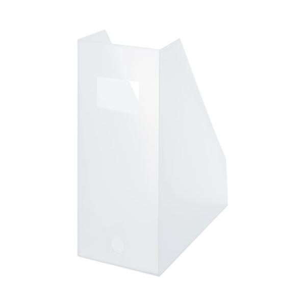 【スーパーSALE限定価格】(まとめ)ライクイット ファイルボックス ワイド ホワイトLM-29 WH【×30セット】