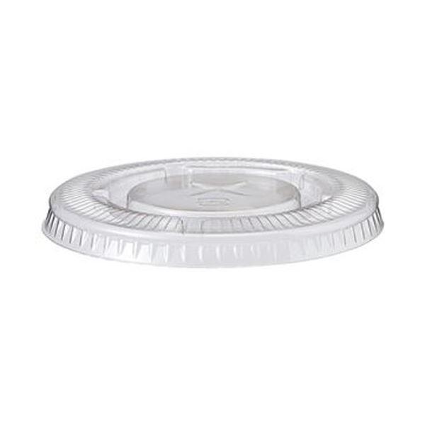 (まとめ)TANOSEE PETカップ フタ420ml用 1パック(50枚)【×50セット】