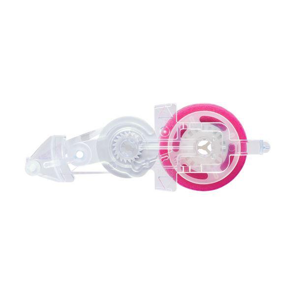 (まとめ) コクヨ テープのりドットライナーコンパクト しっかり貼るタイプ つめ替え用 ハート柄 8.4mm×11m タ-D4550-081個 【×50セット】