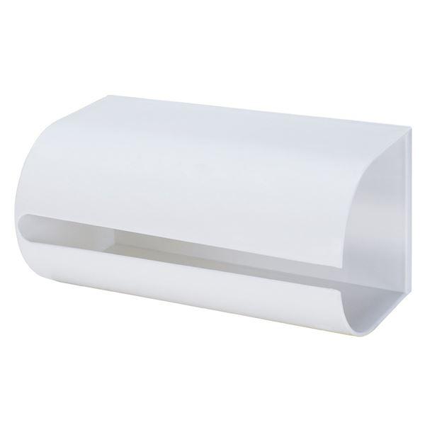 (まとめ) キッチンペーパーホルダー 【マグネット式】 ホワイト キッチン収納 『Mag-On』 【24個セット】