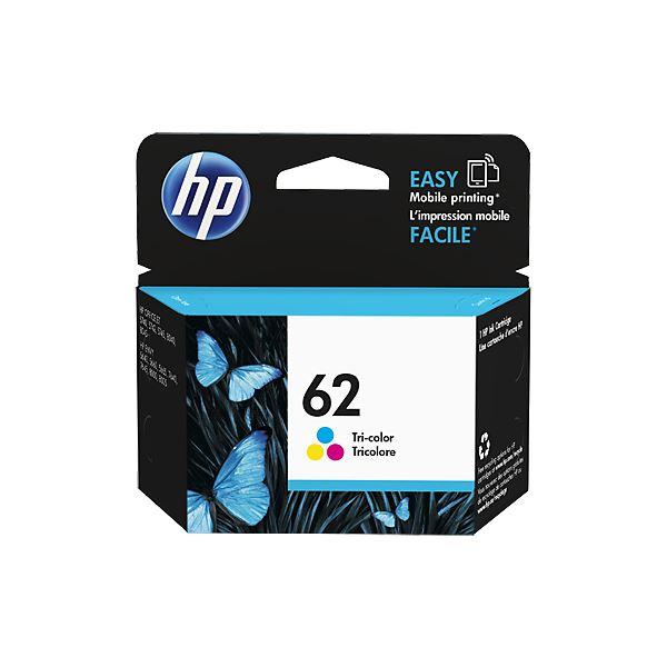 (まとめ) HP HP62 インクカートリッジカラー C2P06AA 1個 【×10セット】