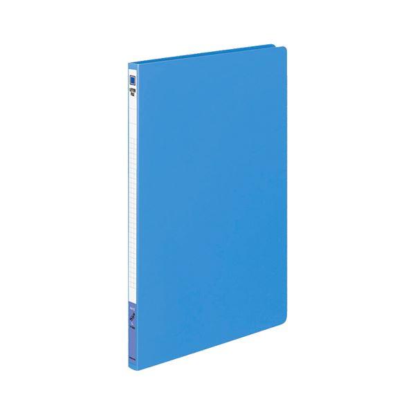 (まとめ) コクヨ レターファイル(PP表紙) A4タテ 120枚収容 背幅18mm 青 フ-520B 1冊 【×30セット】
