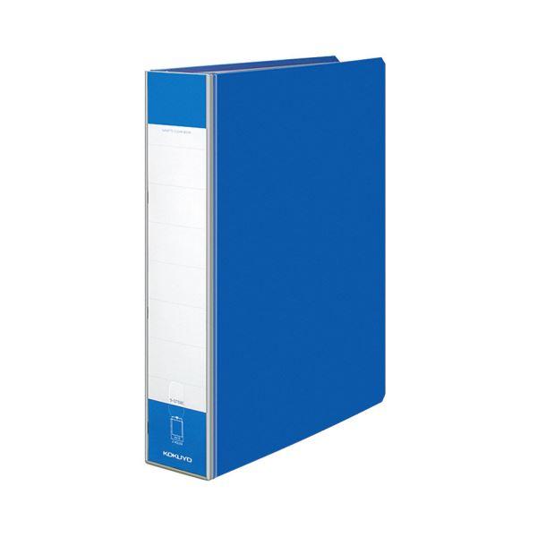 ガバットクリヤーブック(替紙式・2穴)A4タテ 130ポケット ラ-GT680B コクヨ 1セット(10冊) 青 背幅65・95mm