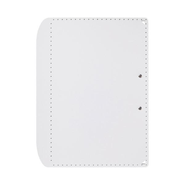 (まとめ)プラス おりたためるA3クリップボード+ ホワイト(×50セット)