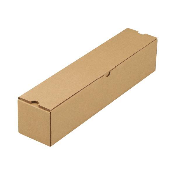 (まとめ)TANOSEEポスターケース(ダンボール) 60サイズ 1パック(50枚)【×2セット】