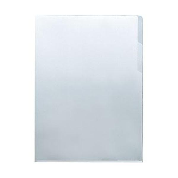 (まとめ)コクヨ クリヤーホルダー(ダブルポケット)A4 透明 フ-TD750T 1セット(5枚)【×20セット】