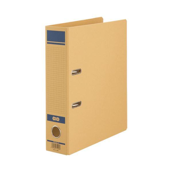 (まとめ) TANOSEE保存用レバー式アーチファイルN A4タテ 背幅77mm 青 1冊 【×30セット】