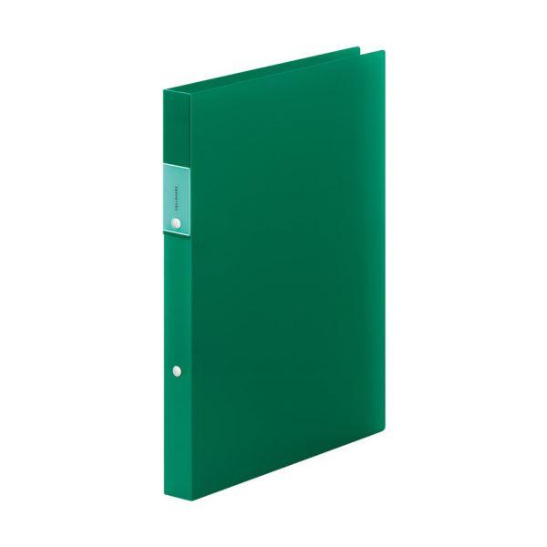 (まとめ) キングジム FAVORITESリングファイル(透明) A4タテ 2穴 140枚収容 背幅29mm 緑 FV621Tミト 1冊 【×30セット】