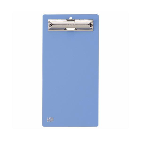 (まとめ)ライオン事務器 PETカラー用箋挟伝票サイズ ブルー No.110K 1枚 【×30セット】