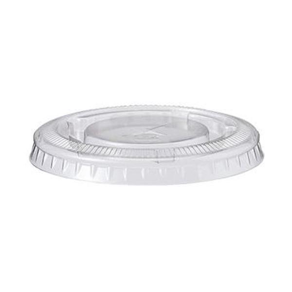 (まとめ)TANOSEE PETカップ フタ220ml用 1パック(100枚)【×20セット】