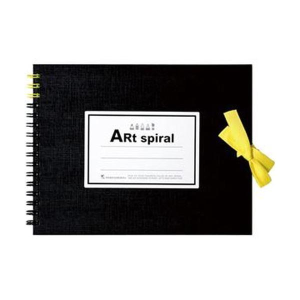 (まとめ)マルマン スケッチブックアートスパイラル F0 ブラック 24枚 S310-05 1冊【×20セット】