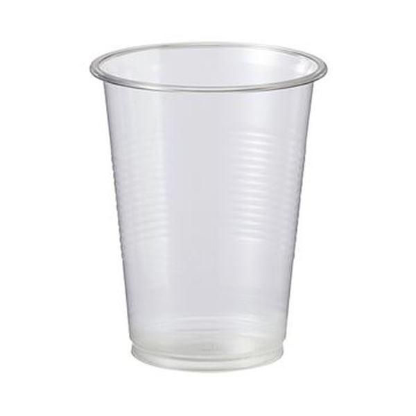 (まとめ)TANOSEE リサイクルPETカップ 220ml(7オンス)1パック(100個)【×20セット】