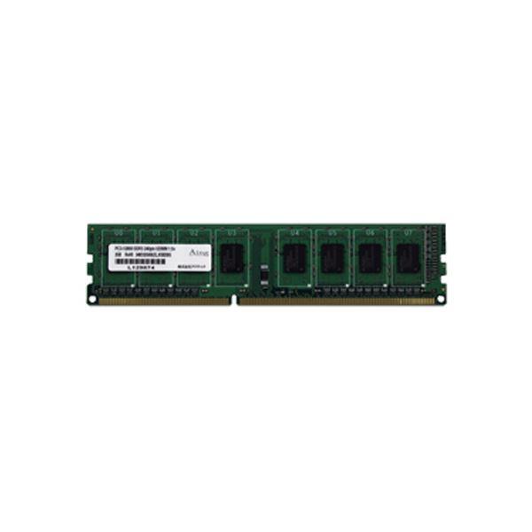 (まとめ)アドテック DDR3 1600MHzPC3-12800 240Pin UDIMM 4GB 省電力 ADS12800D-H4G 1枚【×3セット】
