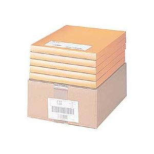 東洋印刷 ナナワード ページプリンタ用A4 24面 32×69mm LDW24PB 1箱(500シート:100シート×5冊)