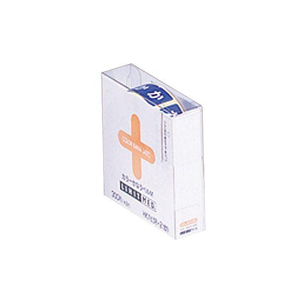 (まとめ) リヒトラブ カラーかなラベルMロールタイプ 「か」 HK763R-2 1箱(300片) 【×10セット】