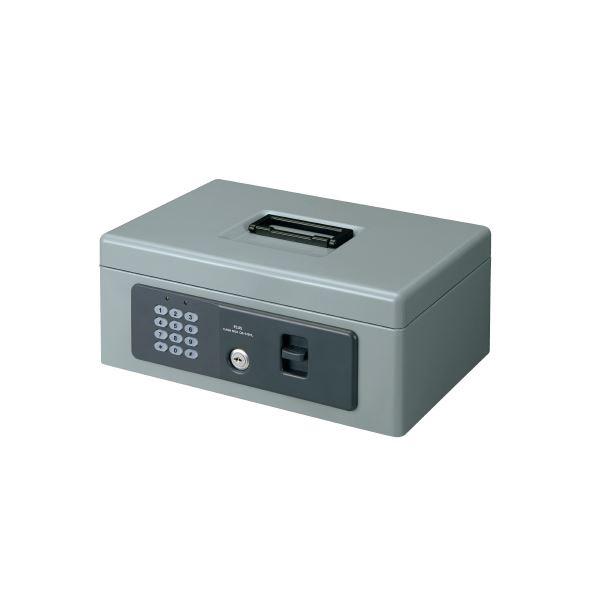 プラス 電子ロック手提金庫 S CB-030HL グレー