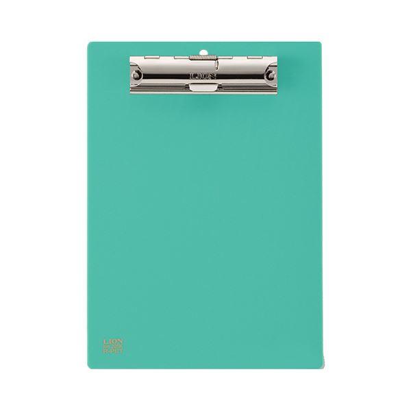 (まとめ) ライオン事務器 PETカラー用箋挟B6タテ グリーン No.205K 1枚 【×30セット】