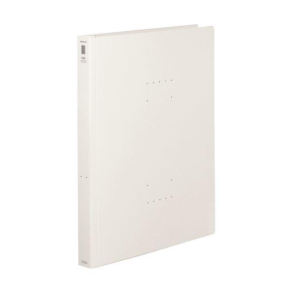 (まとめ) コクヨフラットファイル(NEOS)(厚とじ) A4タテ 250枚収容 背幅28mm オフホワイト フ-NEW10W1セット(10冊) 【×10セット】