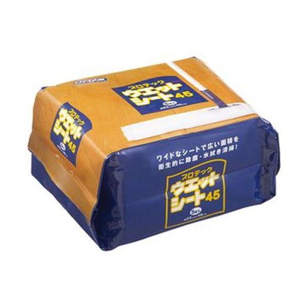 (まとめ)山崎産業 プロテック ウエットシート45220×480mm MO646-045X-MB 1パック(5枚)【×20セット】
