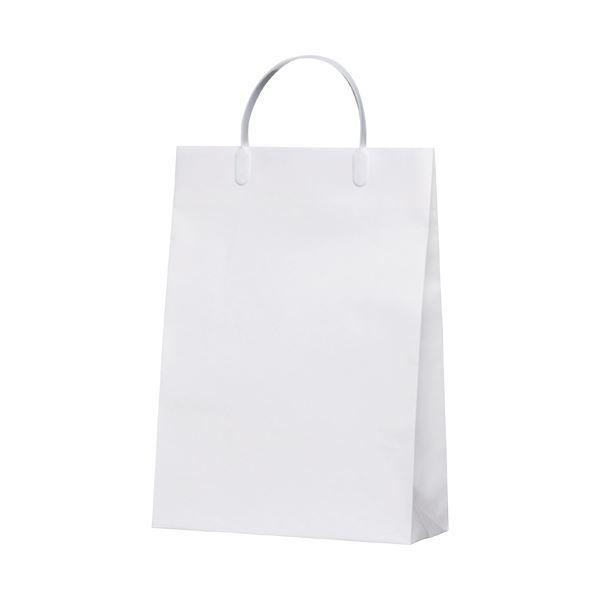 (まとめ)今村紙工 白コーティングバック10枚KWCB-01【×5セット】