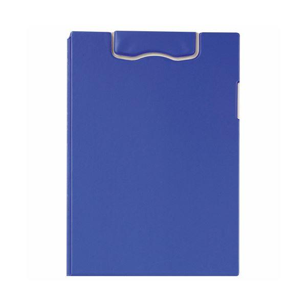 (まとめ) ライオン事務器マグネットホルダー(レオグリップ) 2つ折り式 A4タテ ブルー No.300MG 1枚 【×10セット】
