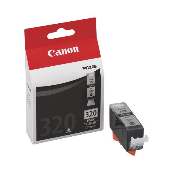 (まとめ) キヤノン Canon インクタンク BCI-320PGBK ブラック 2926B001 1個 【×10セット】