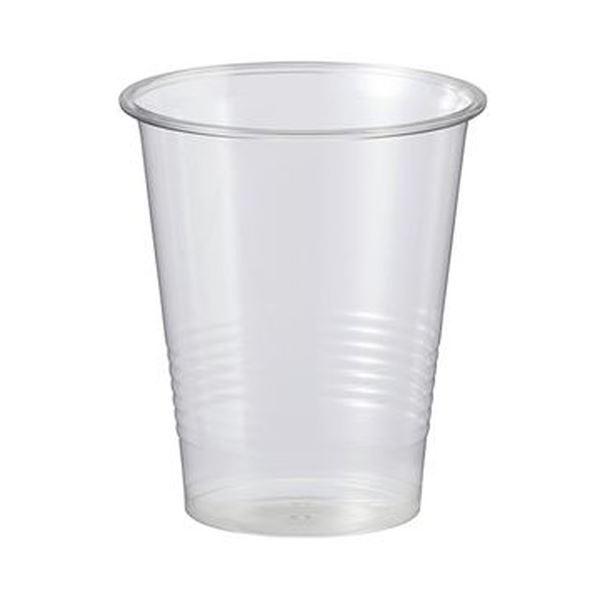 (まとめ)TANOSEE リサイクルPETカップ 270ml(9オンス)1パック(100個)【×20セット】
