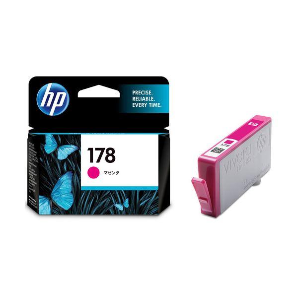 (まとめ) HP178 インクカートリッジ マゼンタ CB319HJ 1個 【×10セット】