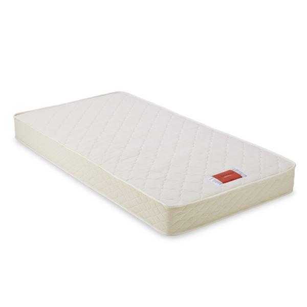 【フランスベッド】 ポケットコイルマットレス/寝具 【シングルサイズ】 両面仕様 エッジサポート仕様