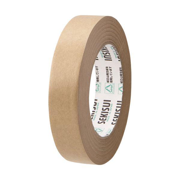 (まとめ) 積水化学 クラフトテープ 25mm×50m K51X11 1巻 【×100セット】
