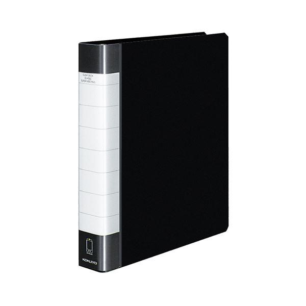 クリヤーブック クリアブック<タフボディ>(替紙式) A4タテ 30穴 50ポケット 150枚収容 黒 【×10セット】