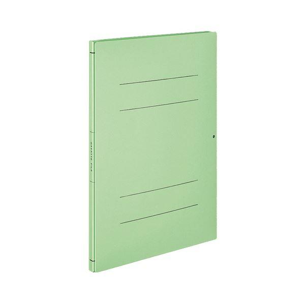 (まとめ) コクヨガバットファイル(活用タイプ・紙製) A4タテ 1000枚収容 背幅14~114mm 緑 フ-V90G1セット(10冊) 【×5セット】