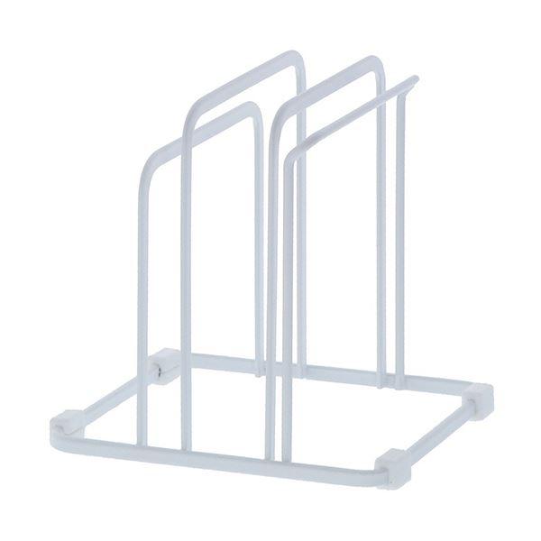 (まとめ)高儀 まな板スタンドトリプル ホワイトシートまな板対応 1個【×10セット】