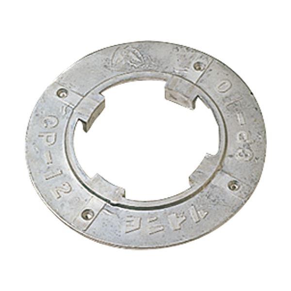 (まとめ)山崎産業 コンドル(ポリシャー用備品)プレート 14インチ E-14-14 1個【×2セット】