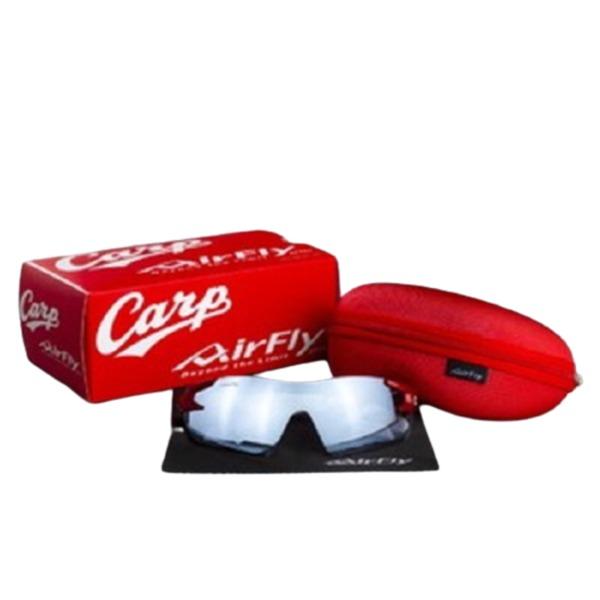 広島カープ Carp AirFly ノーズパッドレス サングラス 一眼モデル 2019モデル HC-003【代引不可】
